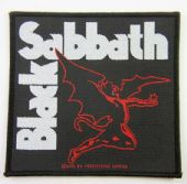 Black Sabbath - 'Devil'  Woven Patch